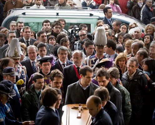 Funeral de Miguel Delibes - Photogenic Agencia Gráfica