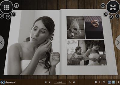 Photogenic Agencia Gráfica fotógrafos de bodas - Álbum de bodas flash